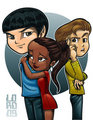 Illogical - spock-and-uhura fan art
