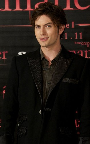 Jackson Rathbone and Nikki Reed at 'The Twilight Saga: Breaking Dawn - Part 1' Photocall in Spain
