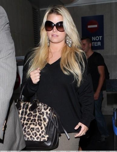 Jessica - LAX Airport - October 10, 2011