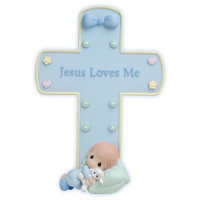 耶稣 Loves Me 交叉, 十字架 With Stand