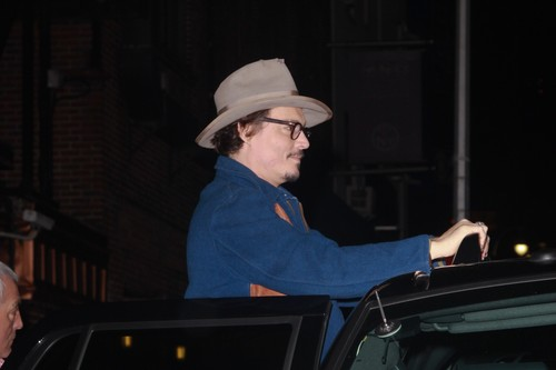 Johnny at Letterman's 显示