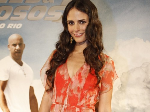 Jordana Brewster wallpaper probably with a cocktail dress and a portrait entitled Jordana Brewster Wallpaper