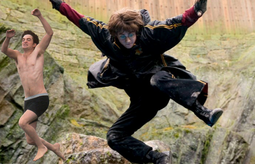 Jumping Rob & Harry Potter