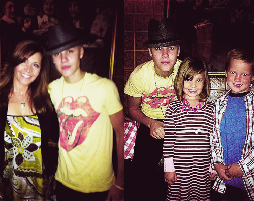 Justin visits to Power in Los Angeles