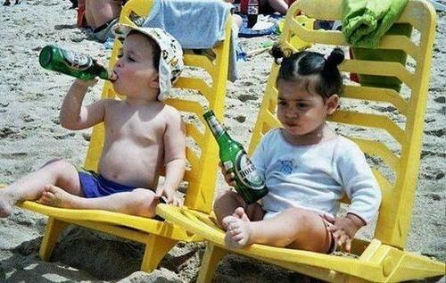 Facebook Wallpaper Entitled KIDS Funny Summer