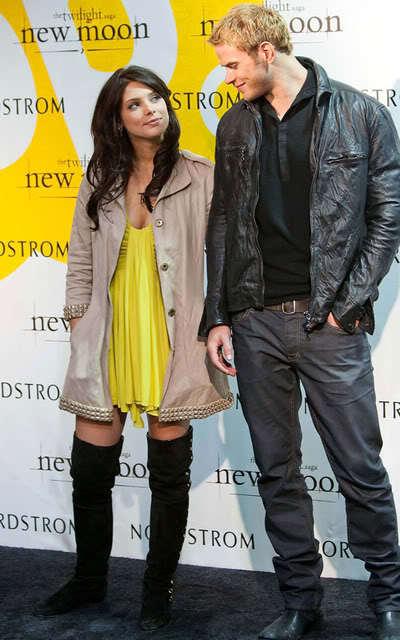 Kellan Lutz and Ashley Greene