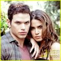 Kellan Lutz and Nikki Reed - twilight-series photo