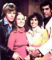 Kin Shriner, Genie Francis, Denise Alexander and Michael Gregory