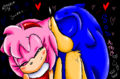 Kiss - sonamy fan art