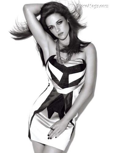 Kristen Stewart fond d'écran containing attractiveness entitled Kristen in Glamour UK