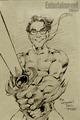 Leonard Hofstadter drawing
