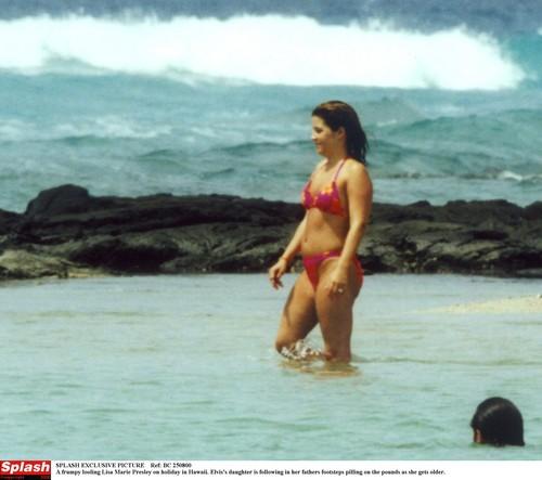 Lisa Marie Presley Bikini 30 There is
