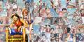 Luffy x Nami collage