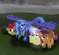 Luna and The Crusaders~! - princess-luna photo