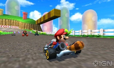 Mario Kart 바탕화면 probably containing a business district called Mario Kart 7