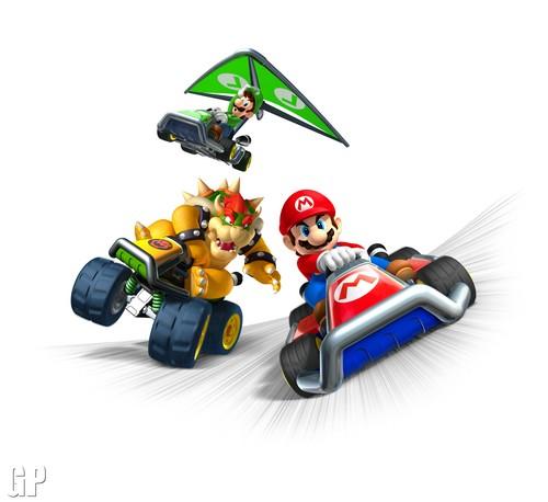 Mario Kart 바탕화면 entitled Mario Kart 7