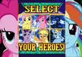 Marvel Ponies!