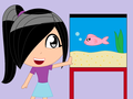 Me and my fish... (I MISS YOU LIZZIE!!!!)