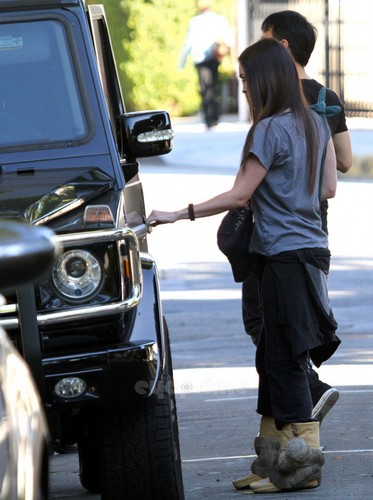 Megan zorro, fox was spotted out and about in BevHills, Oct 27