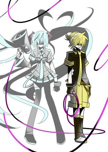Miku and Len 愛 Is War