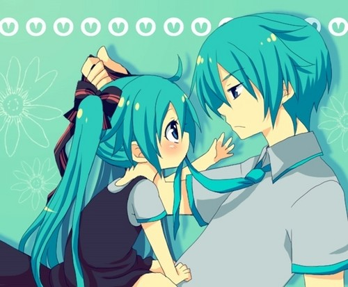 Miku and Mikuo!