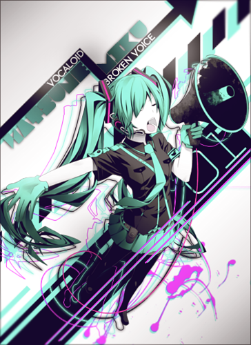 Miku  - hatsune-miku Fan Art