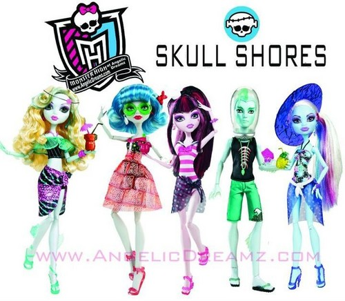 Monster High Skull Shores