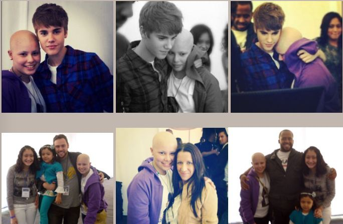 My name is Anita Weissbrot. I am 13 years old, I live in Chile and I have cancer - justin-bieber photo