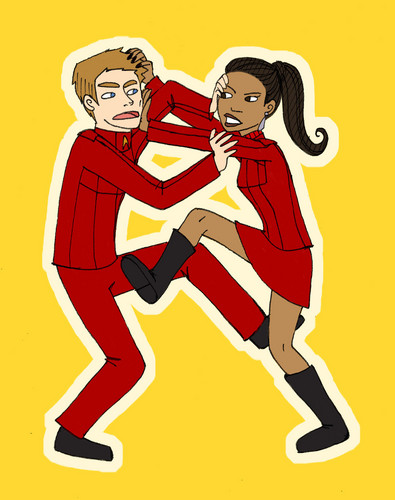 NOT THE HAIR UHURA