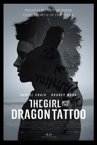 New 'Girl With a Dragon Tattoo' poster