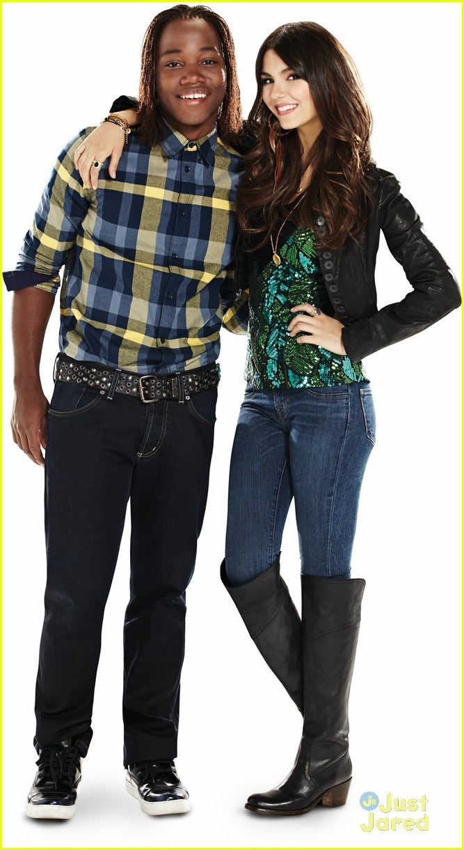 Victoria Justice and Leon Thomas III
