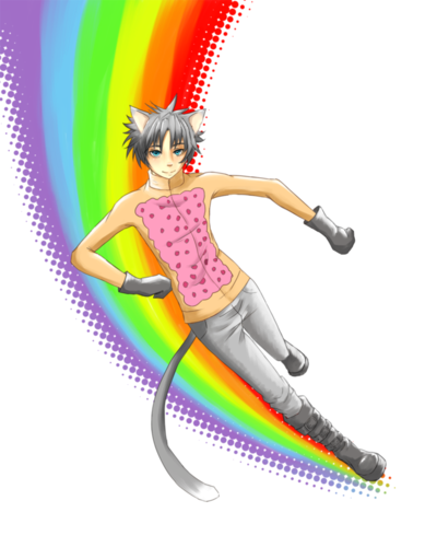 Nyan Cat wallpaper entitled Nyan catboy