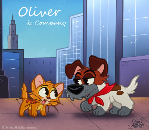 Oliver and Co. CHIBI