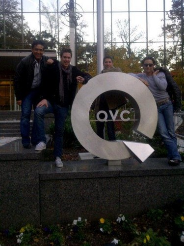 On arrival... QVC