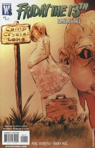 Jason Voorhees achtergrond with anime called Pamela's Tale Comics