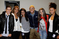 Paris Jackson, Chris Brown & friends