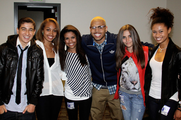 Paris Jackson, Chris Brown & 프렌즈