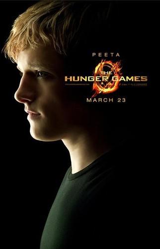 Peeta HUnger Games Poster