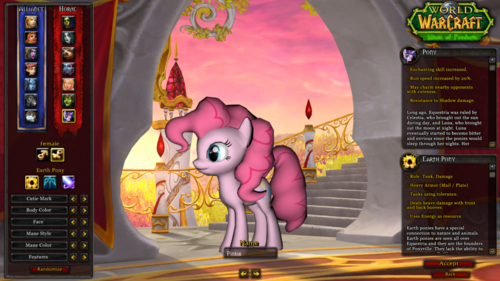 Pinkie in World of Warcraft
