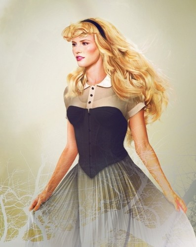 "Princess Aurora in ""Real"" Life"