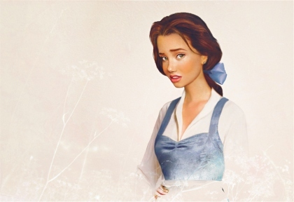"Princess Belle in ""Real"" Life"