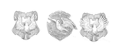 Ravenclaw crest concept art
