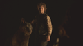 Rickon Stark and Shaggydog