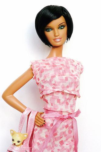 蕾哈娜 芭比娃娃 Doll