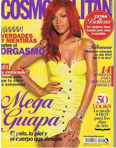 Rihanna - Cosmopolitan Spain - November 2011