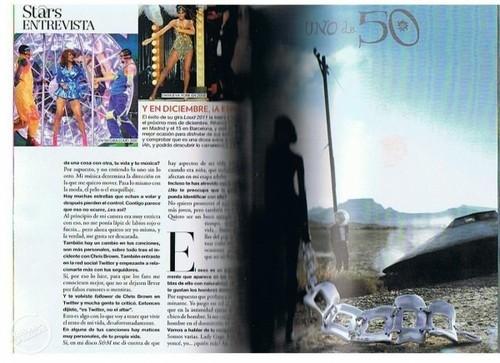 リアーナ - Glamour Spain - November 2011