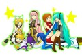 Rin,Len,Luka,Gakupo,Meiko, Miku and Kaito - vocaloid photo