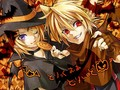 Rin and Len Halloween