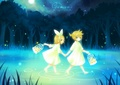 Rin and Len Kagamine - vocaloid photo