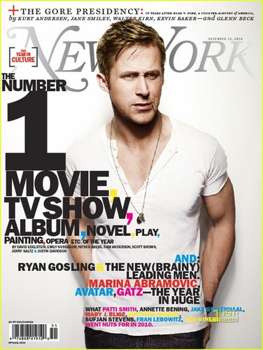 Ryan 小鹅, gosling, 高斯林 Covers 'New York' Magazine